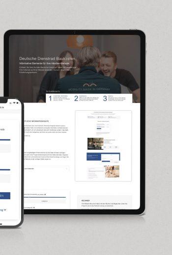 Digitaler Baukasten. Module für Ihre Website.